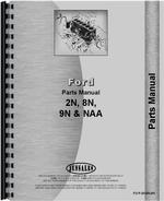 Parts Manual for Ford 9N Tractor