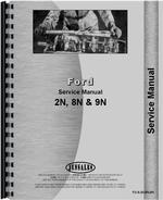 Service Manual for Ford 9N Tractor