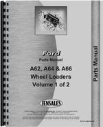 Parts Manual for Ford A62 Wheel Loader