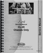 Service Manual for Ford CL20 Skid Steer