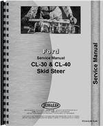 Service Manual for Ford CL30 Skid Steer