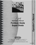 Operators Manual for Ford Dexta Tractor