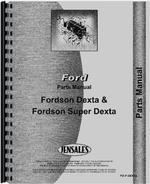 Parts Manual for Ford Dexta Tractor