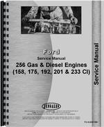 Service Manual for Ford 158 Engine