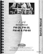 Service Manual for Ford FW 40 Tractor