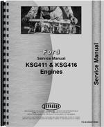 Service Manual for Ford I-98 Engine