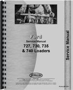 Service Manual for Ford 730 Industrial Loader Attachment