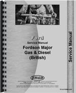 Service Manual for Ford New Major Tractor