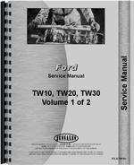 Service Manual for Ford TW 10 Tractor