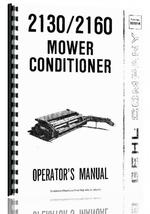 Operators Manual for Gehl 2130 Mower Conditioner