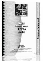 Operators Manual for Gehl HL2500A Skid Steer Loader