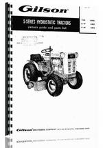 Operators & Parts Manual for Gilson 53003 Lawn & Garden Tractor