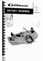 Operators & Parts Manual for Gilson Gilson Lawn & Garden Tractor