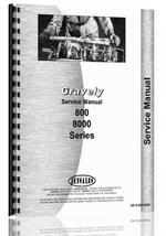 """Service Manual for Gravely 800, 8000 Lawn & Garden Tractor"""