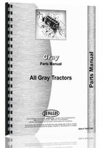 Parts Manual for Gray all Tractor