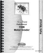 Parts Manual for Galion 118B Grader