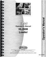 Operators Manual for Gehl HL2600 Skid Steer Loader