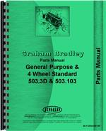 Parts Manual for Graham Bradley all Tractor