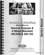 Service Manual for Graham Bradley all Tractor