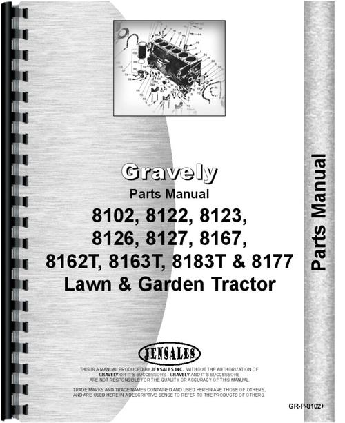 gravely 8122 lawn & garden tractor parts manual ariens riding mower belt diagram  gravely mower parts diagram rear hub