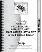 Parts Manual for Gravely 8123 Lawn & Garden Tractor