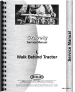 Service Manual for Gravely L Walk Behind Tractor