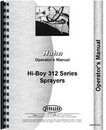 Operators Manual for Hahn 312 Tractor
