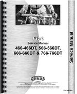 Service Manual for Hesston 666 Tractor