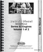 Service Manual for Hough H-90C Pay Dozer Detroit Diesel Engine