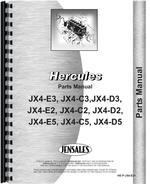 Parts Manual for Hough HAH Pay Loader Hercules Engine