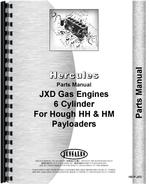 Parts Manual for Hough HH Pay Loader Hercules Engine