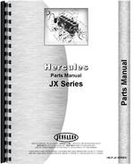 Parts Manual for Hough HU-B Pay Loader Hercules Engine