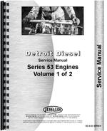 Service Manual for Hough T-300SL Paymover Tug Detroit Diesel Engine
