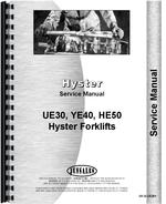 Service Manual for Hyster HE50 Forklift