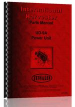 Parts Manual for Adams 312 Grader Engine