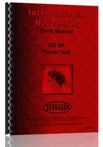 Parts Manual for Adams 312 Grader Engine
