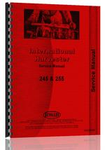 Service Manual for Case-IH 255 Tractor