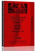 Service Manual for Case-IH 585 Tractor