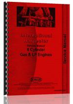 Service Manual for Pettibone Super 4 Forklift IHC Engine