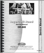 """Service Manual for Ingersoll R, DR600 Air Compressor"""