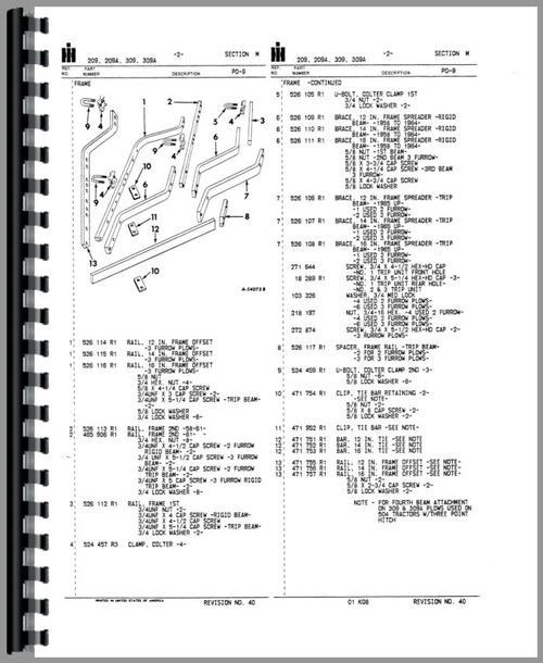 international harvester 215 plow parts manual. Black Bedroom Furniture Sets. Home Design Ideas