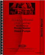 Service Manual for International Harvester 250 Crawler Diesel Pump
