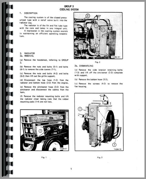 international harvester 384 tractor service manual. Black Bedroom Furniture Sets. Home Design Ideas