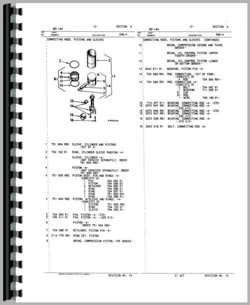 international harvester 444 tractor engine parts manual. Black Bedroom Furniture Sets. Home Design Ideas