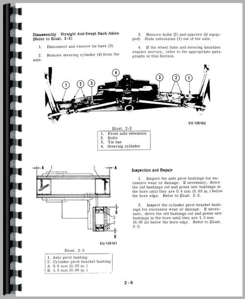 International Harvester 464 Tractor Service Manual