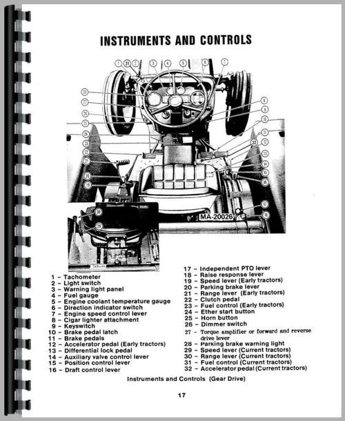 international harvester 684 tractor operators manual. Black Bedroom Furniture Sets. Home Design Ideas