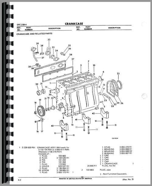 International Harvester D239 Engine Parts Manual on international harvester engine schematic, international truck wiring schematic, 1942 farmall m electrical schematic, international harvester 1986 682 ignition switch diagram, international harvester starter,