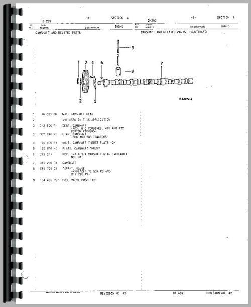 international harvester d414 engine parts manual International Engine Parts Diagram international harvester bd154 engine