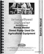 Service Manual for International Harvester Roosa Master Injection Pump