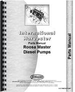 Parts Manual for International Harvester UD282 Power Unit Diesel Pump